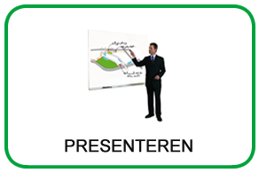 Alles om te presenteren: presentatiesystemen, presentatiemappen, projectoren etc.