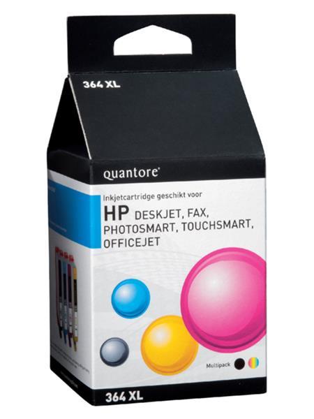 Inktcartridge Quantore HP 364XL SM596EE HC ZW 3 KL