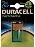 Batterij oplaadbaar Duracell 9V HR9V