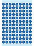 Etiket Herma 1833 rond 8mm 540st donkerblauw