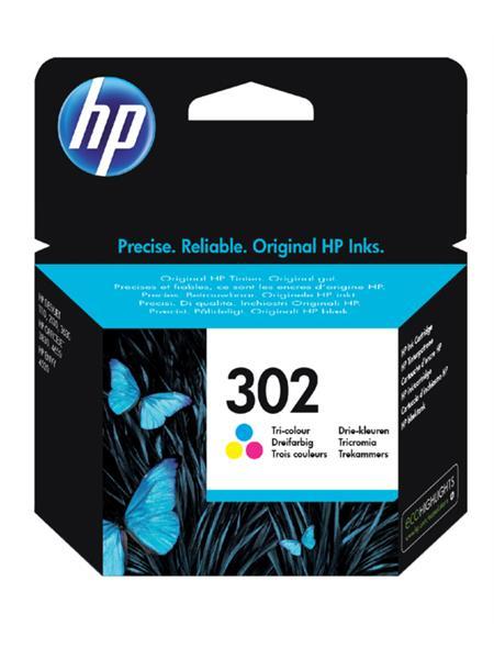 Inktcartridge HP 302 F6U65AE kleur