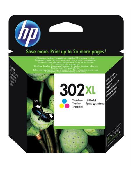 Inktcartridge HP 302XL F6U67AE kleur