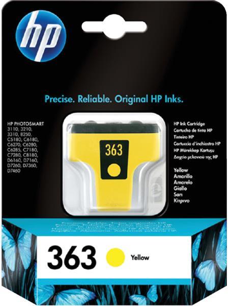 Inktcartridge HP 363 C8773EE geel