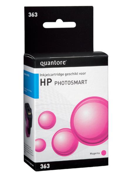 Inktcartridge Quantore HP 363 C8772EE rood