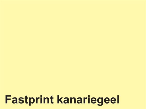 Kopieerpapier Fastprint-100 A4 120gr kanariegeel