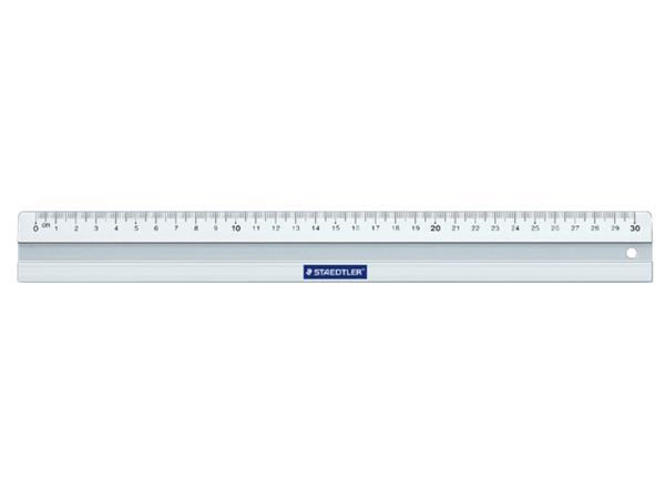 Liniaal Staedtler 563 metaal 30cm