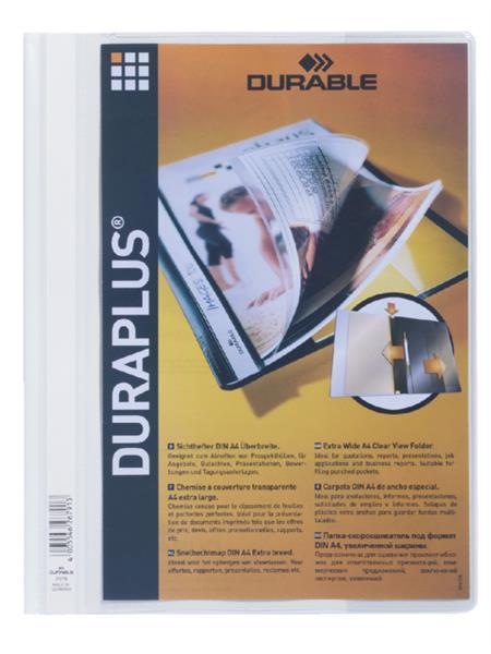 Offertemap Durable Duraplus wit