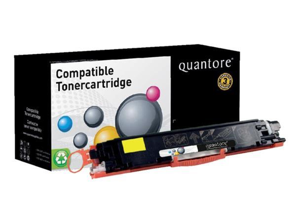 Tonercartridge Quantore HP CE312A 1K geel