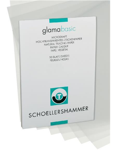 Transparant blok Shoellershammer A4 80-85gr 50V